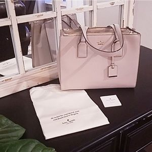 NWOT Kate Spade leather tote
